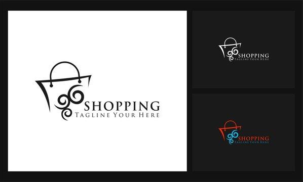 bag icon shopping logo