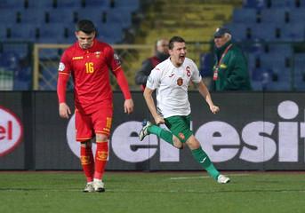 Euro 2020 Qualifier - Group A - Bulgaria v Montenegro