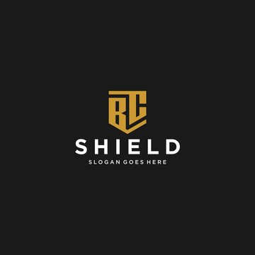 bc letter shield icon