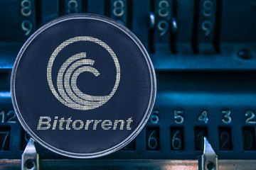Coin cryptocurrency btt against the numbers of the arithmometer. bittorrent