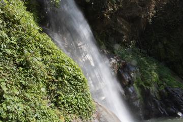 Beauty of water falls at Banjakhri in gangtok