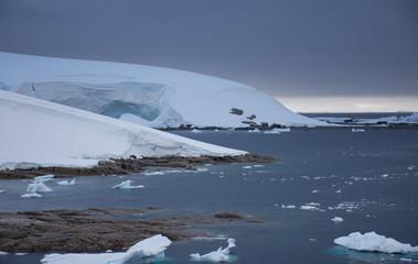 Charlotte Bay at Portal Point Antarctica