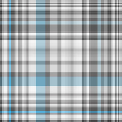 Seamless geometric pattern gray and blue cells