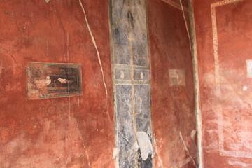 Pompei Napoli zona archeologica afreschi e pitture