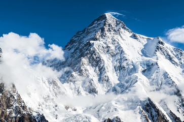 K2 the world second highest peak Wall mural