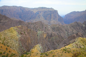 Omans Grand Canyon, Jebel Sharms