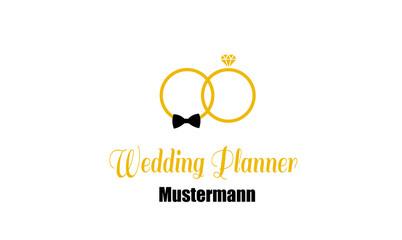 Wedding Planner Logo , Hochzeitsplaner Logo