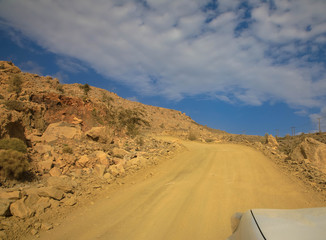Offroad zum Jebel Sharms, Oman