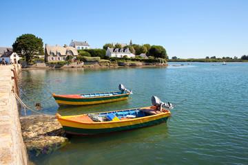 Port de Bretagne en Finistère sud