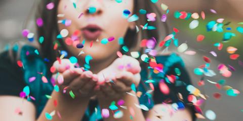 Obraz Confetes - fototapety do salonu