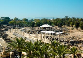 Beit Shean ruins