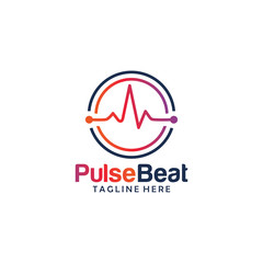 beat pulse logo icon