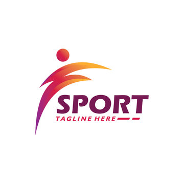 sport logo icon athletic