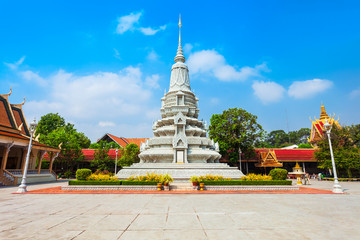 Royal Stupa in Phnom Penh