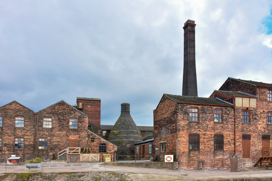 Potteries in Stoke on Trent,Uk