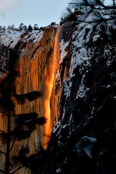 Horsetail Fall at Yosemite