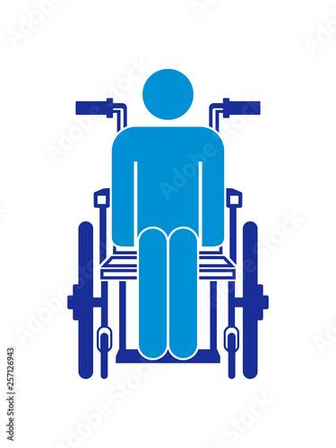 behinderung rollstuhl piktogramm gehen laufen sitzen rollen