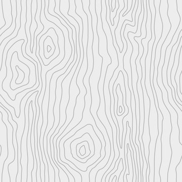Seamless pattern of thin lines, wood texture background. Light gray wooden texture. Vector wallpaper