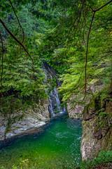 特別名勝三段峡 姉妹滝