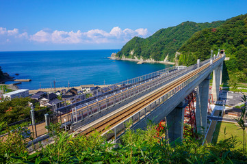 空の駅・余部鉄橋