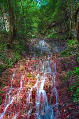 特別名勝三段峡 赤滝