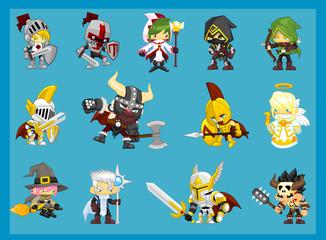 Fantasy Hero Characters