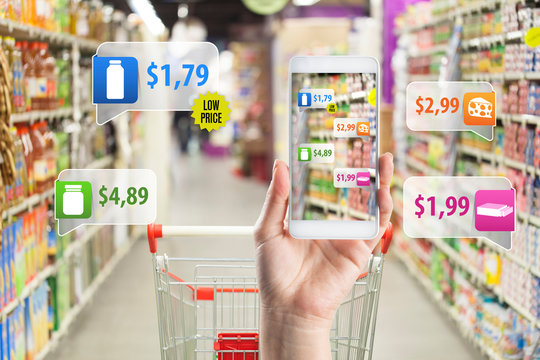 Application of Augmented Reality in Supermarket