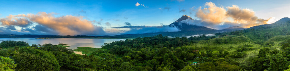 Arenal Volcano and Lake Arenal