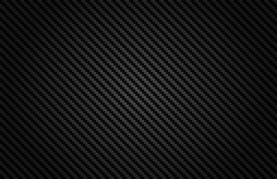 Abstract .Carbon fiber background. black background ,light and shadow. Vector.