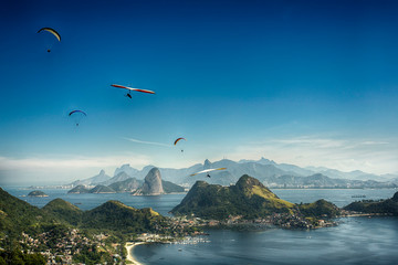 Paisagens do Rio de janeiro, montanha e mar