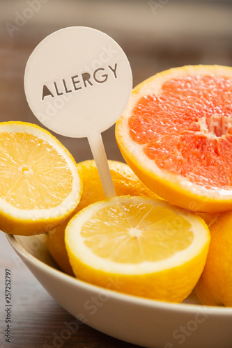 Lemon Allergy Pictures