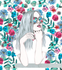 Flowergirl 1