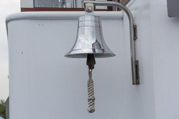Maritime objects bell with rope