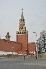 Spasskaya Tower of the Kremlin.