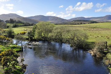 A View of Sneem River in Ireland