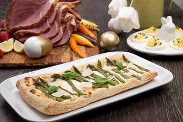 Asparagus Parmesan Puff Pastry