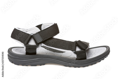 3697b7bfc857 black sandals with a comfortable rubber sole