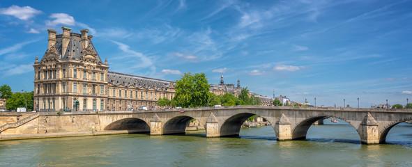 Wall Mural - Pont Royal (Royal bridge) and the Seine river in Paris, France