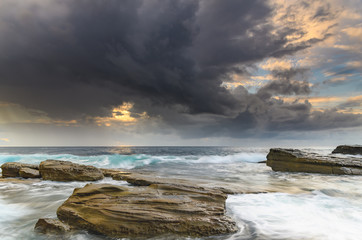 Early Morning Moods Seascape