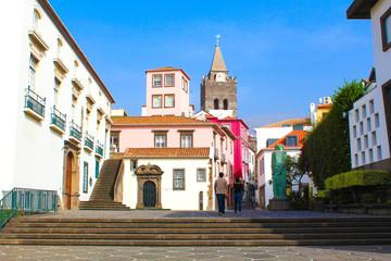 Funchal - Zona Velha / Madère (Portugal) Fototapete