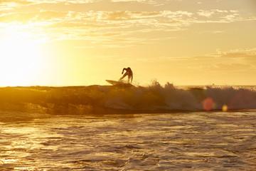 wellenreiten, surfen