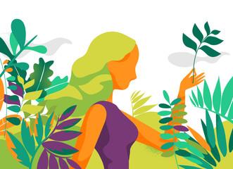 Life into the garden