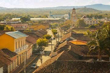Colonial town in Nicaragua Granada