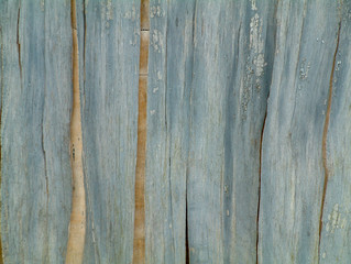 blue weathered painted wood