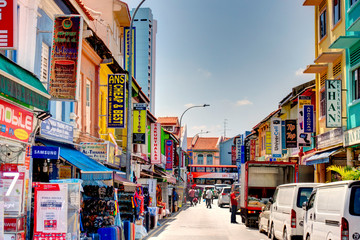 Wall Mural - Singapore, Little India