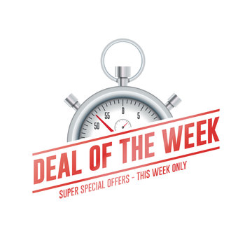 Deal Of The Week Chrono Time Label