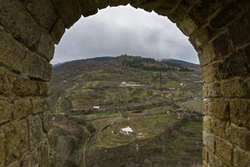 Rural area behind citadel