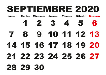 Calendario Uva 2020.Search Photos Septiembre