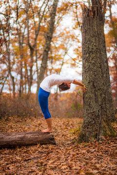 Fall Foliage Yoga