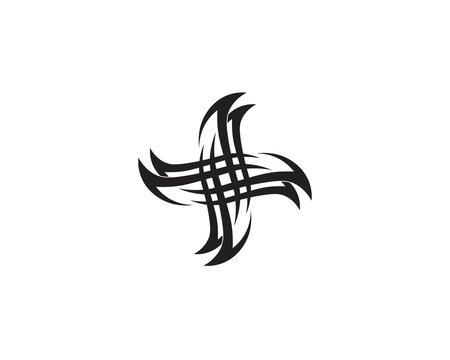 Tribal tatto vector templates